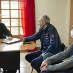 Puratich y Huisman junto al directir Matias Arnedo 03