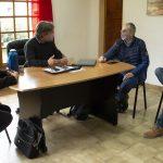 Puratich y Huisman junto al directir Matias Arnedo 04